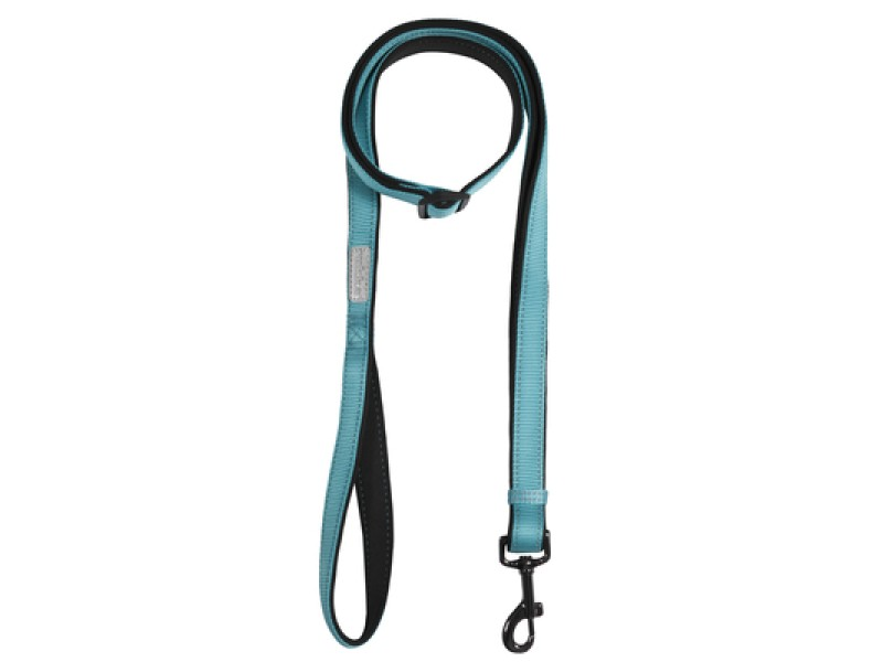 SOLID LEASH TURQUOISE
