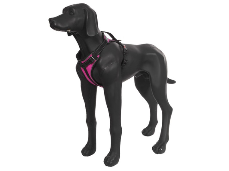 SOLID HARNESS HOT PINK