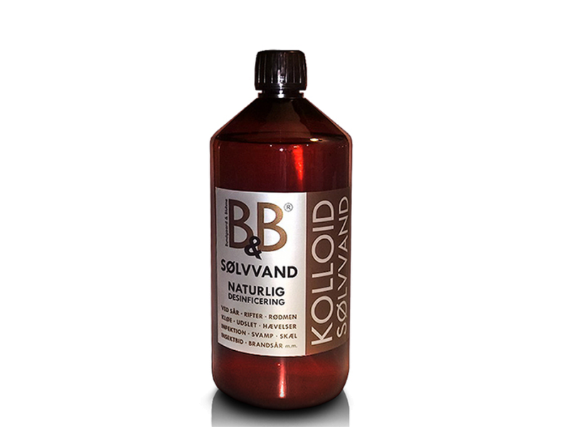 B&B Sølvvand 1000ml