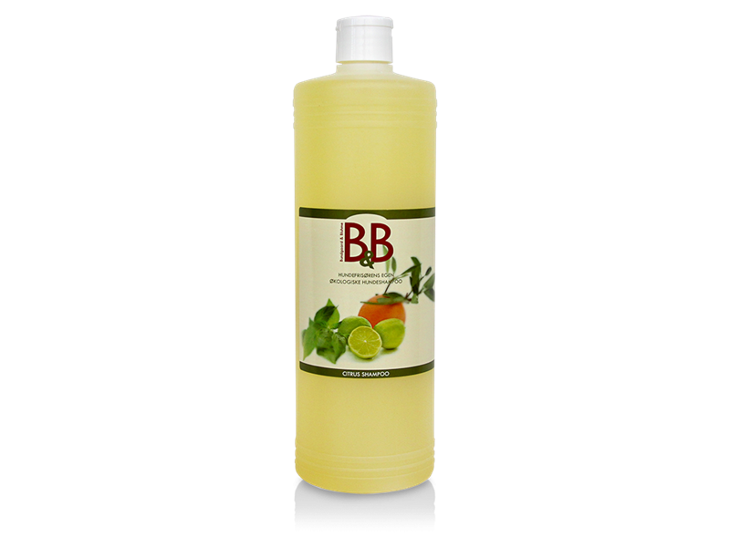 B&B Citrus shampoo 1000ml