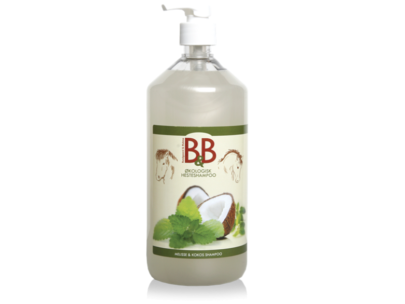 B&B Hesteshampoo 1000ml