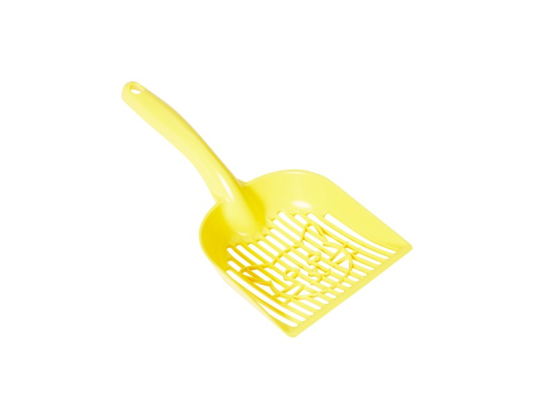 Litter lifter Beamer bright yellow